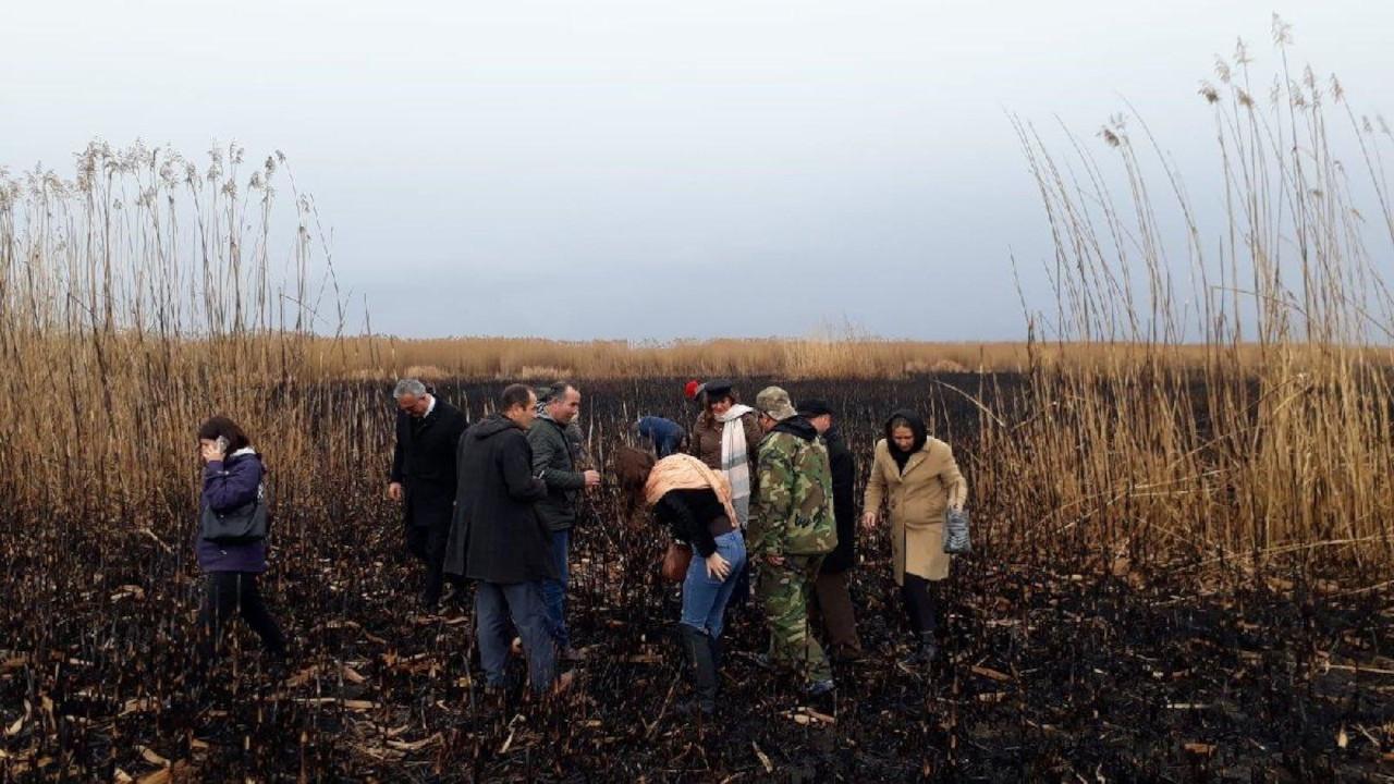 CHP Bolvadin İlçe Başkanı: Eber Gölü'ndeki yangınlar bilinçli