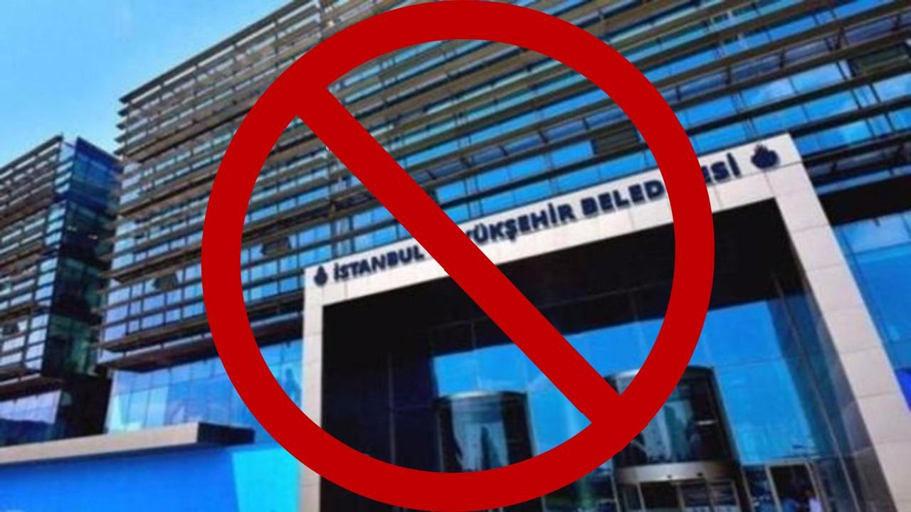 'İBB'nin suç duyurularına erişim engeli' haberlerine de erişim engeli