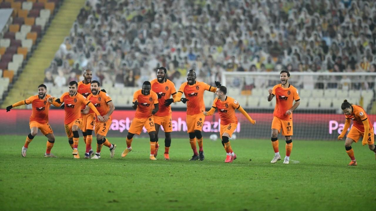 Galatasaray penaltılarda kazandı