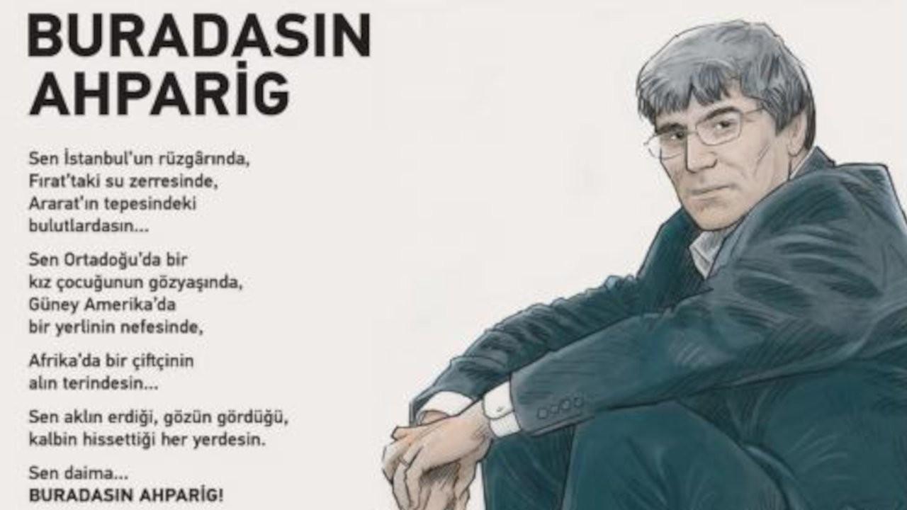Hrant Dink bu yıl online anılacak