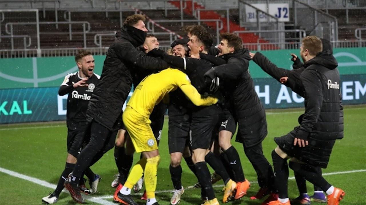 Bayern Münih ikinci lig takımına elendi