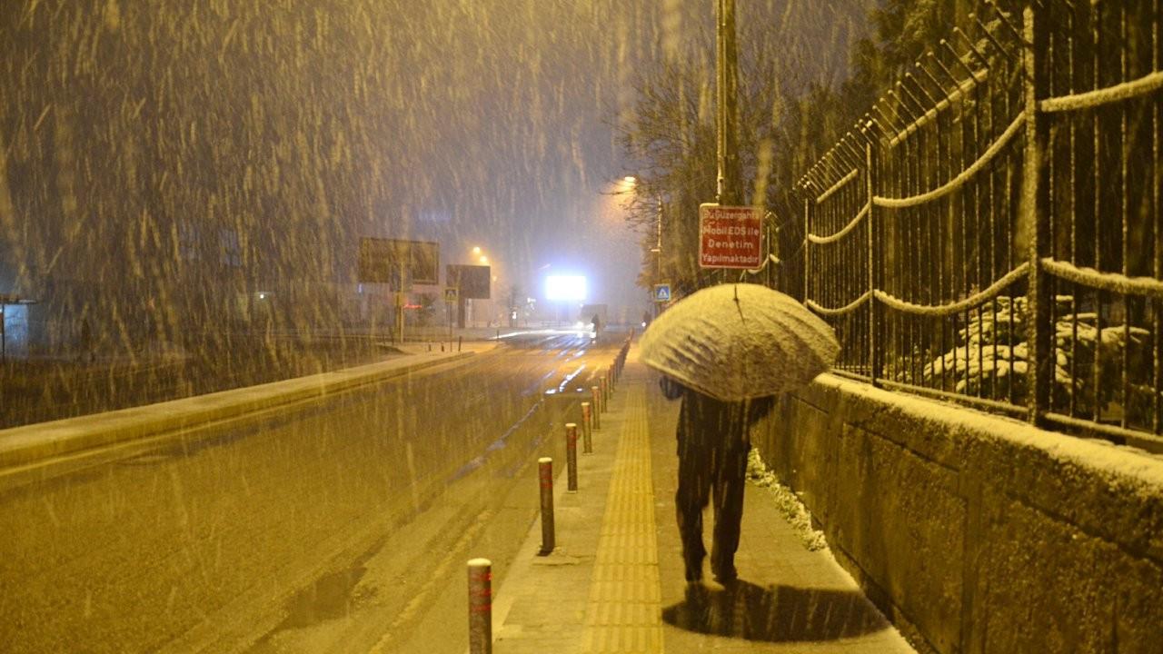 4 il için kar ve don uyarısı