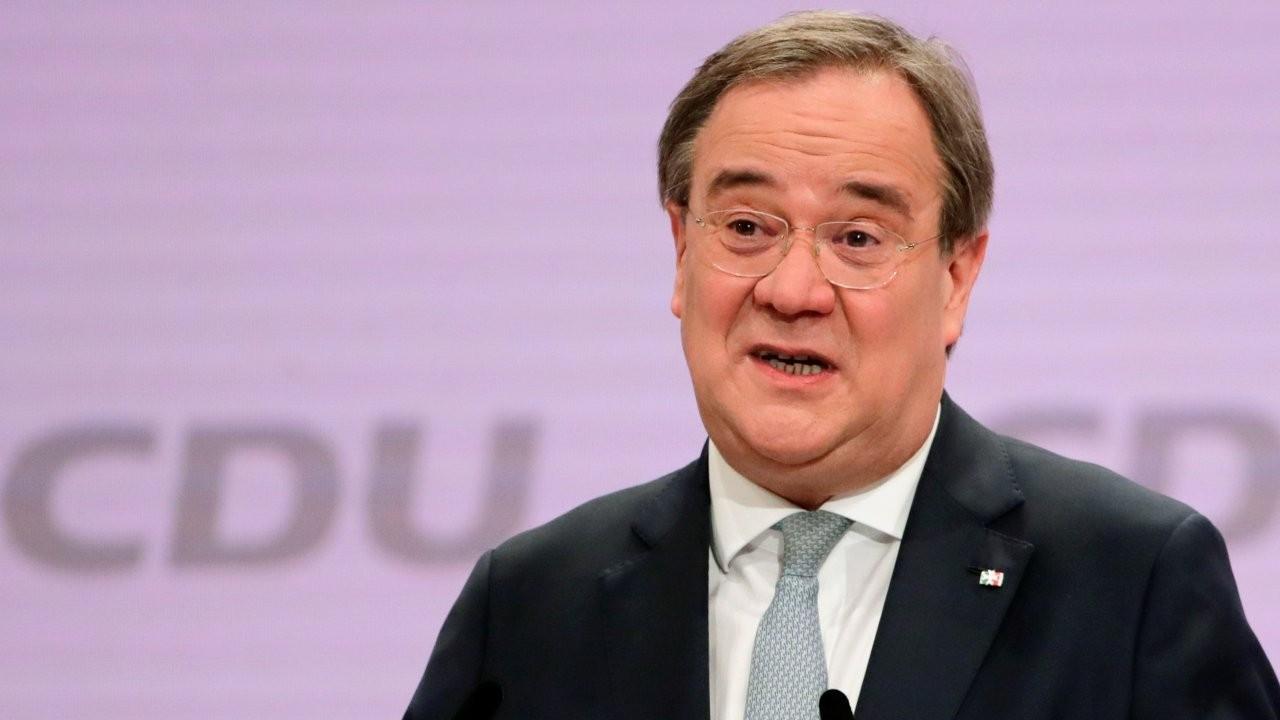 Merkel'in partisi CDU'nun yeni lideri Laschet oldu