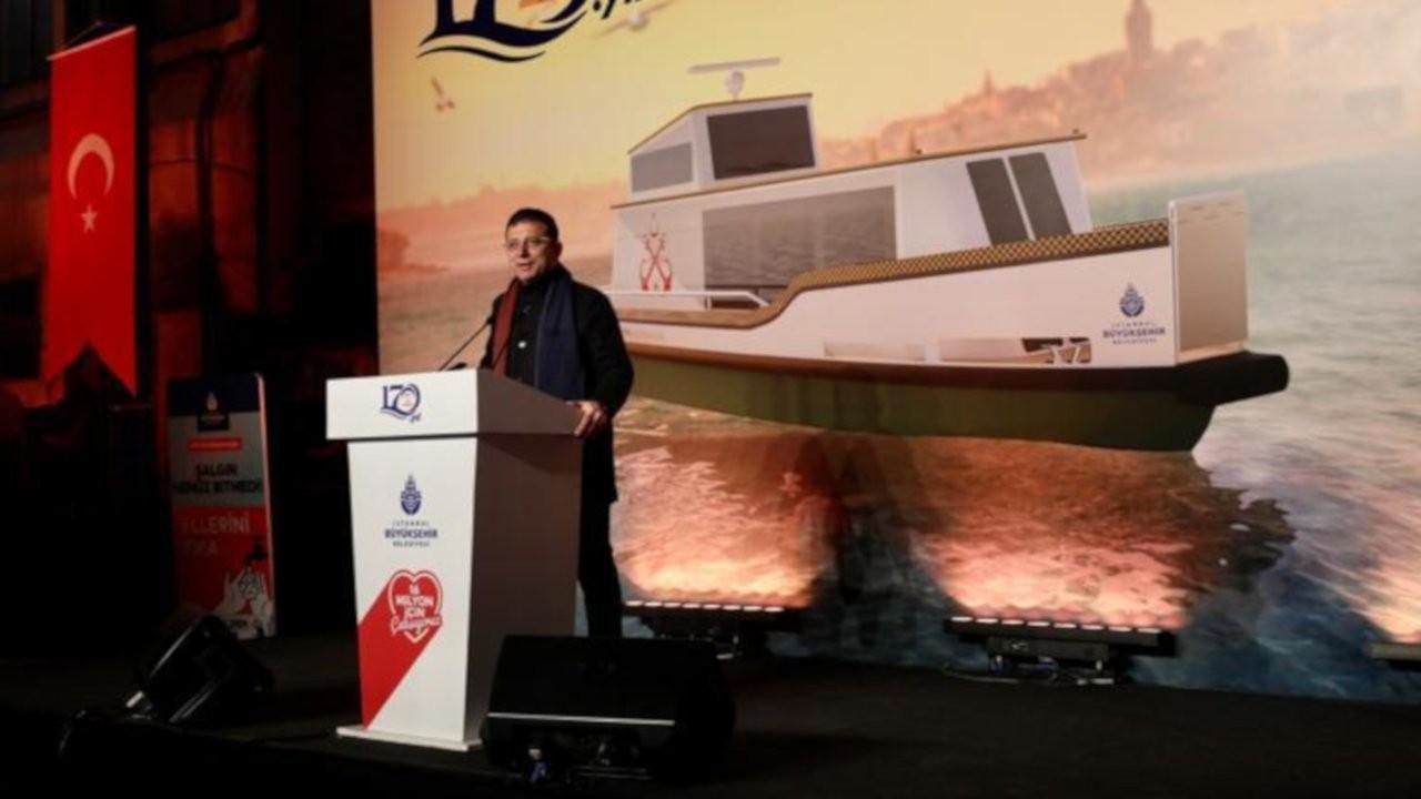 İstanbul'da 50 deniz taksi hizmet verecek