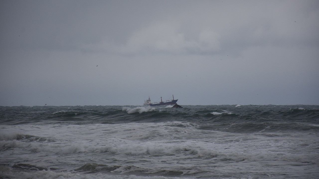 Bartın'da batan geminin Palau bandıralı olduğu belirlendi