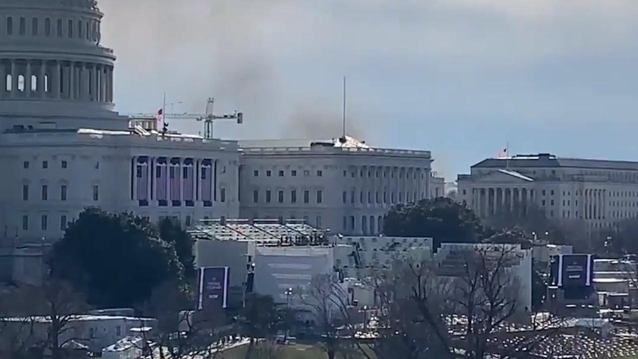 Yemin töreni provasında alarm: Kongre binası kapatıldı