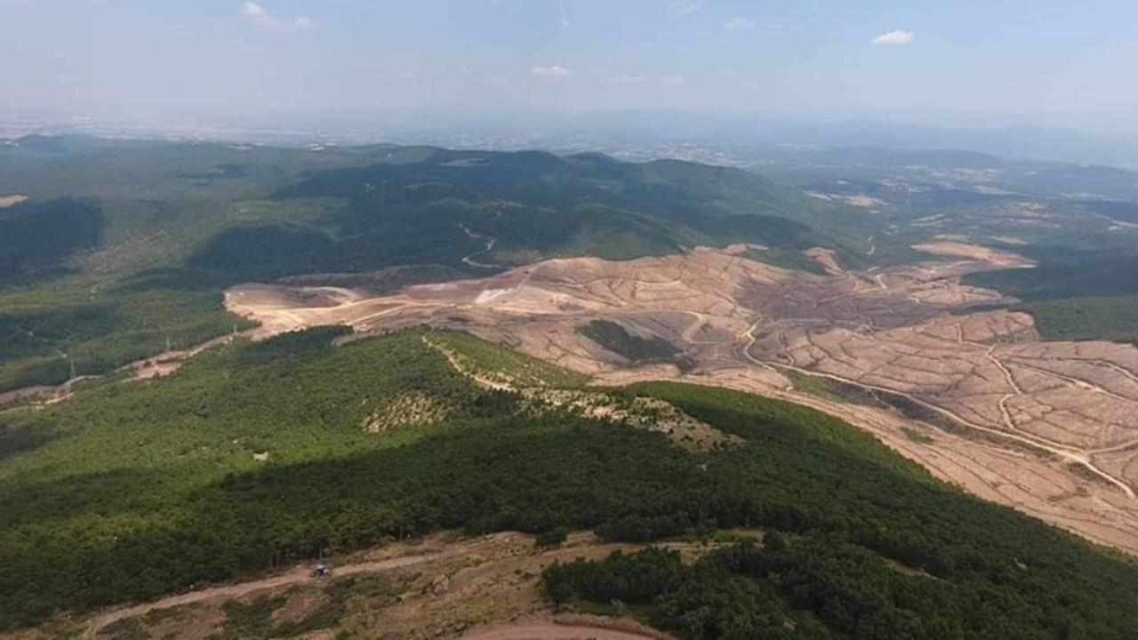 Doğu Biga Madencilik'in siyanürle altın aradığı bölge rehabilite edilecek