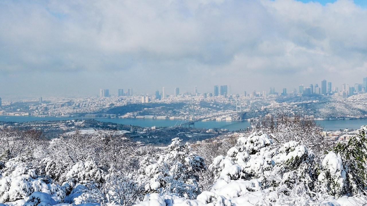 İstanbul'a buzlanma ve don uyarısı