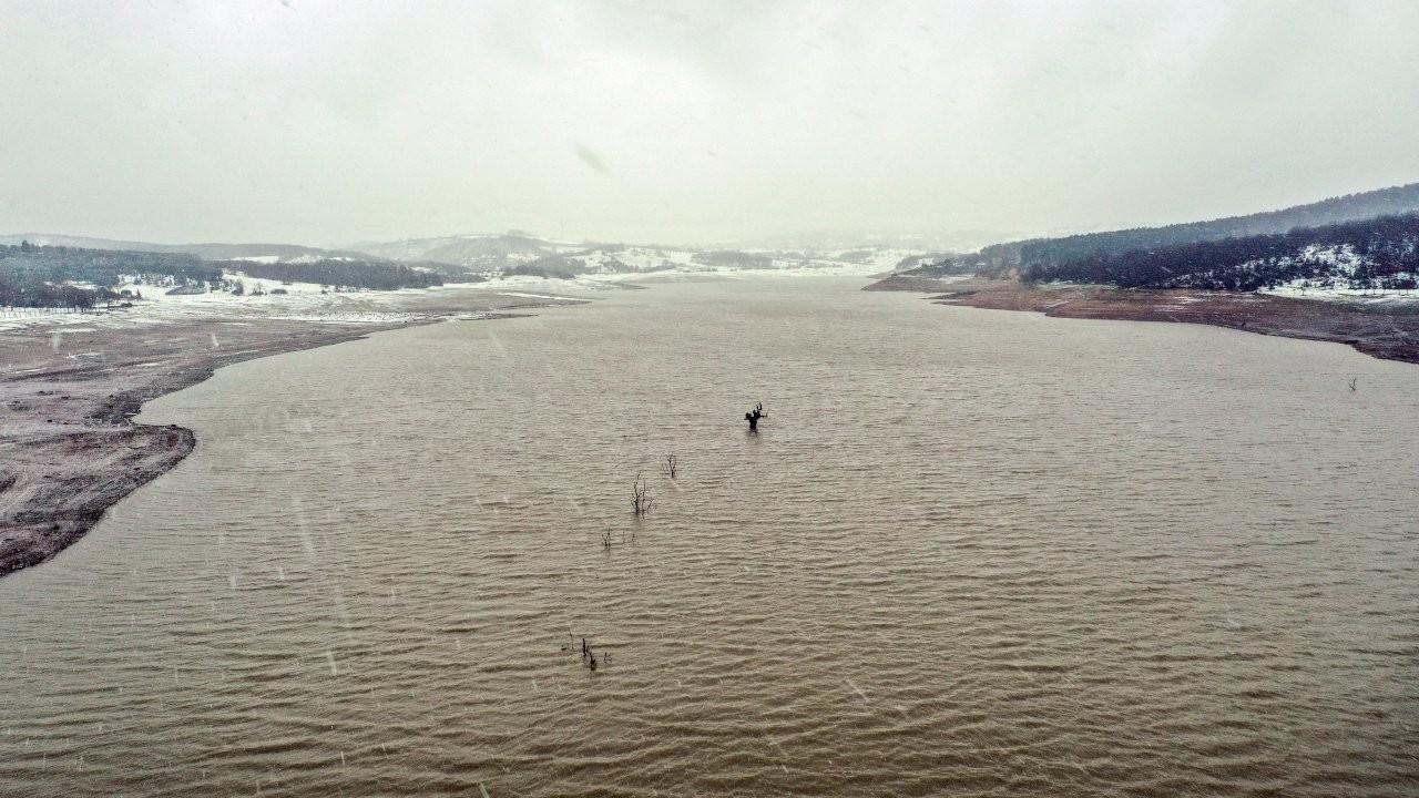 İstanbul'da kar yağışı: Barajlardaki seviye yüzde 30'a yükseldi