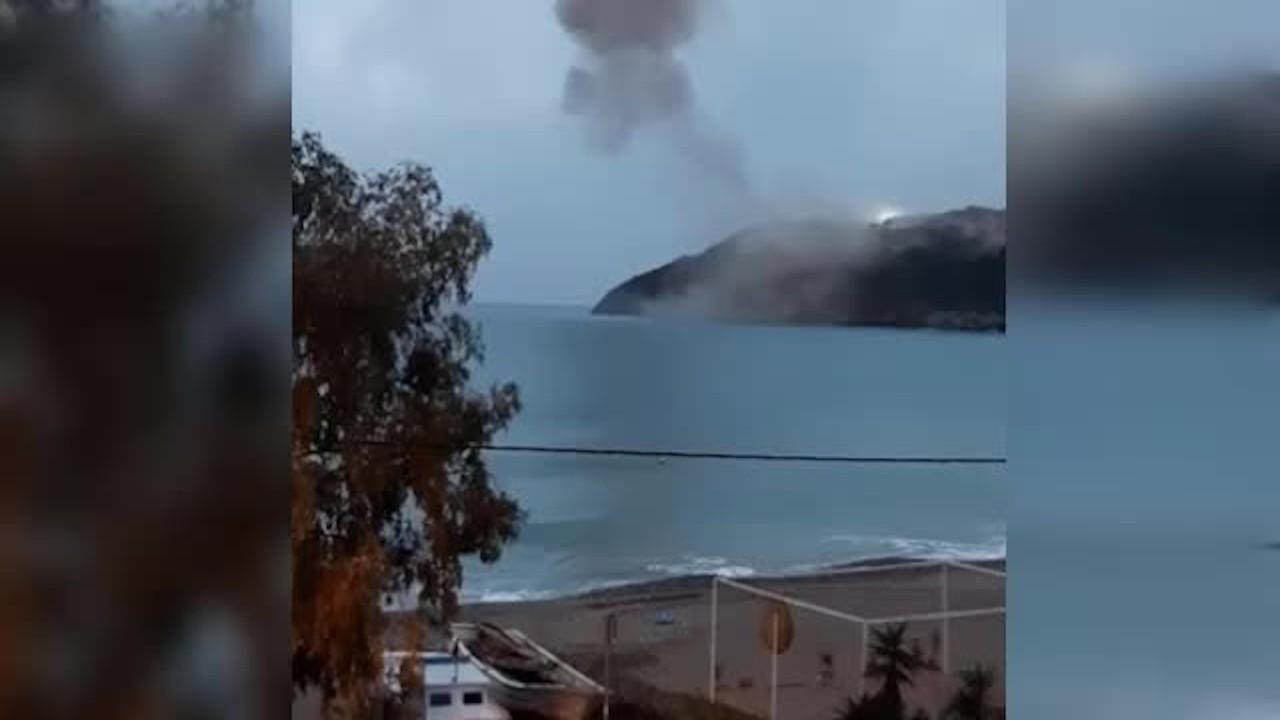 Akkuyu'daki planlı patlamada evler zarar gördü