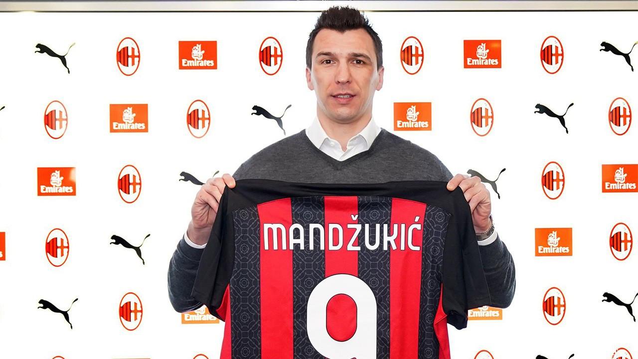 Adı Beşiktaş'la da anılan Mario Mandzukic Milan'da