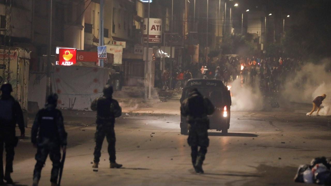 Tunus'ta protestolar sürüyor: 'Korku yok, sokak halka ait'