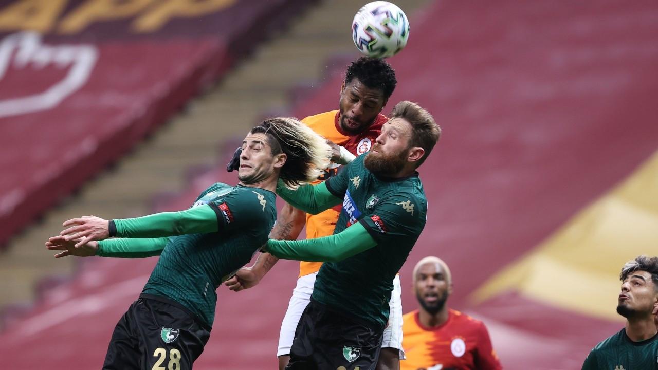 Galatasaray Denizlispor'u farklı yendi: 6-1