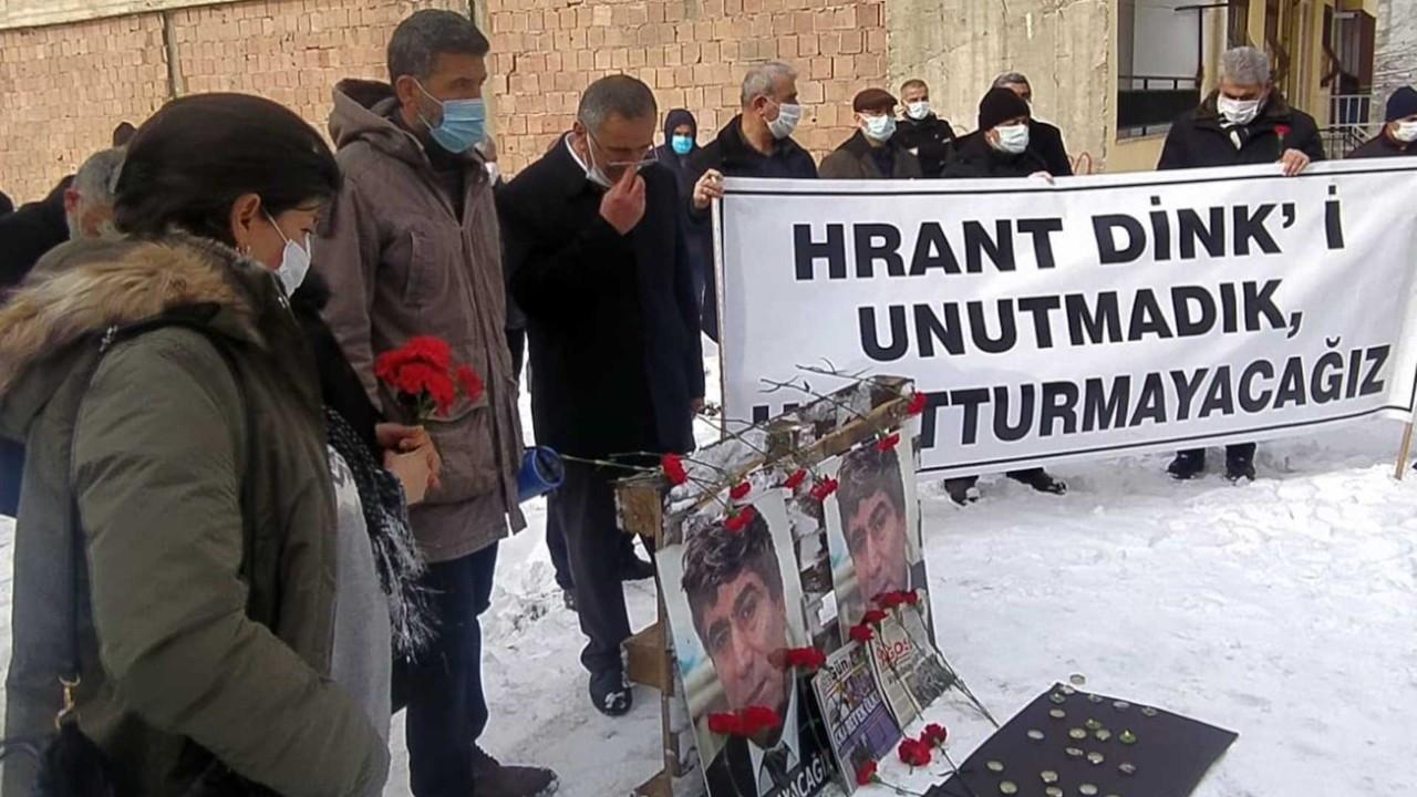 Hrant Dink doğduğu evin önünde anıldı