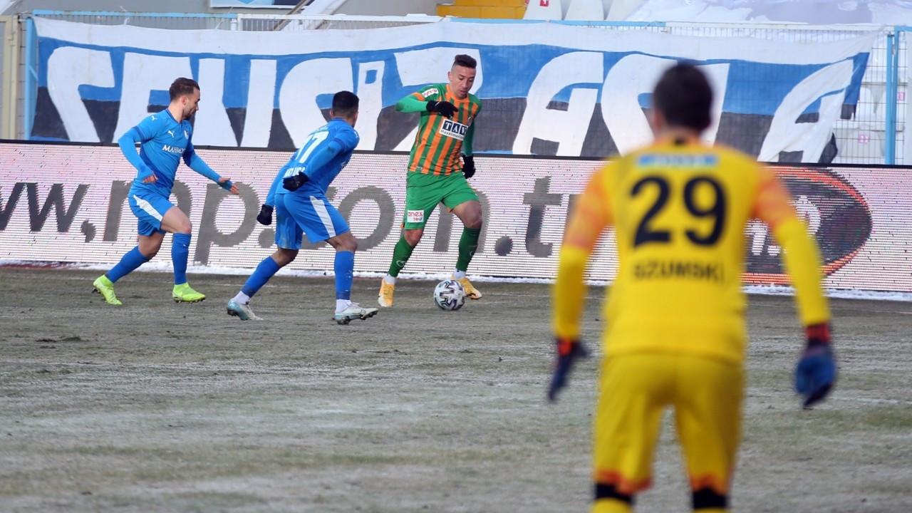 Erzurum'da kazanan çıkmadı: 1-1