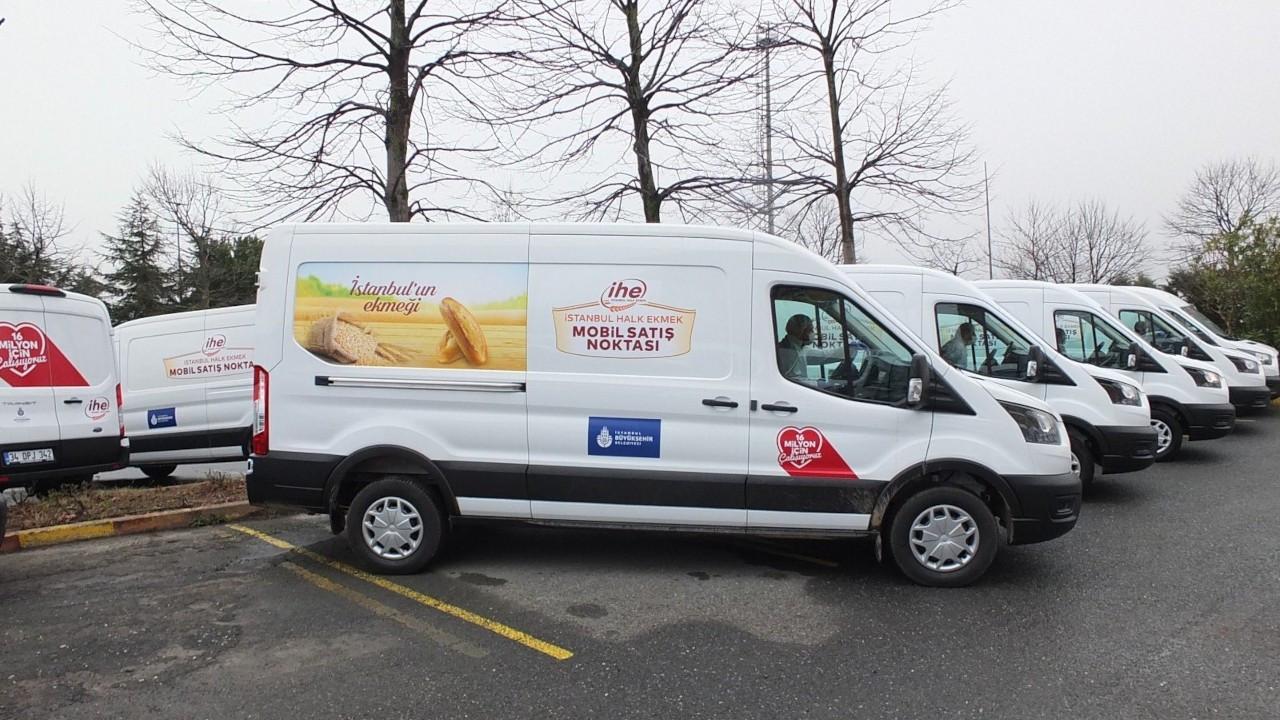 İBB'nin mobil ekmek büfeleri yasaklandı