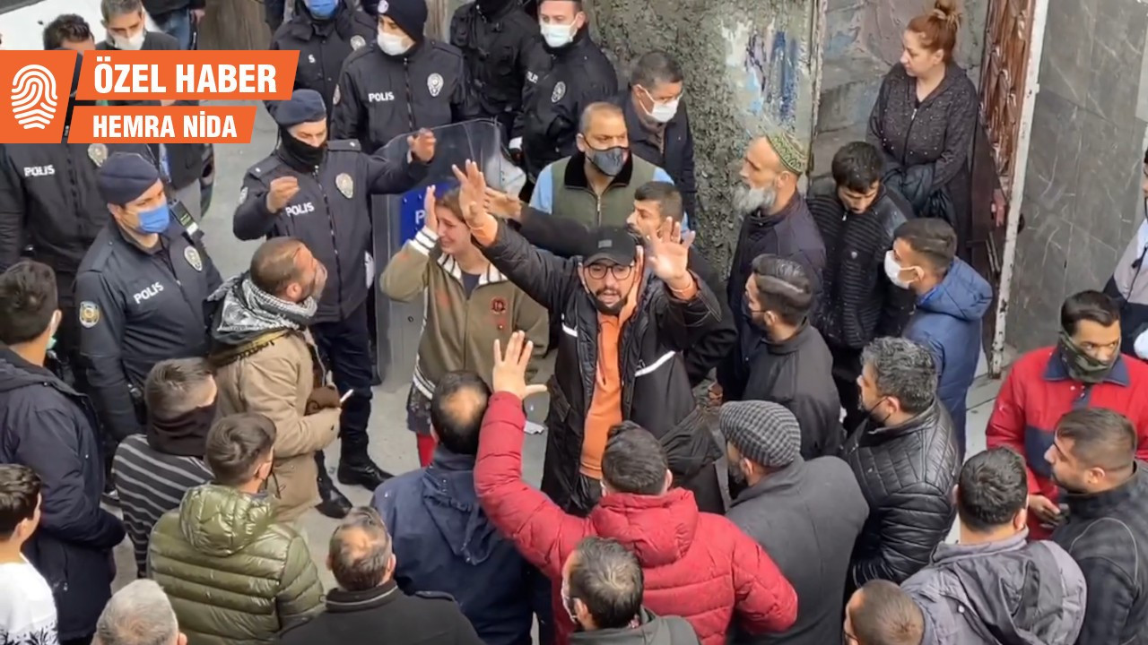 Romanların elektriği polis konvoyuyla kesildi