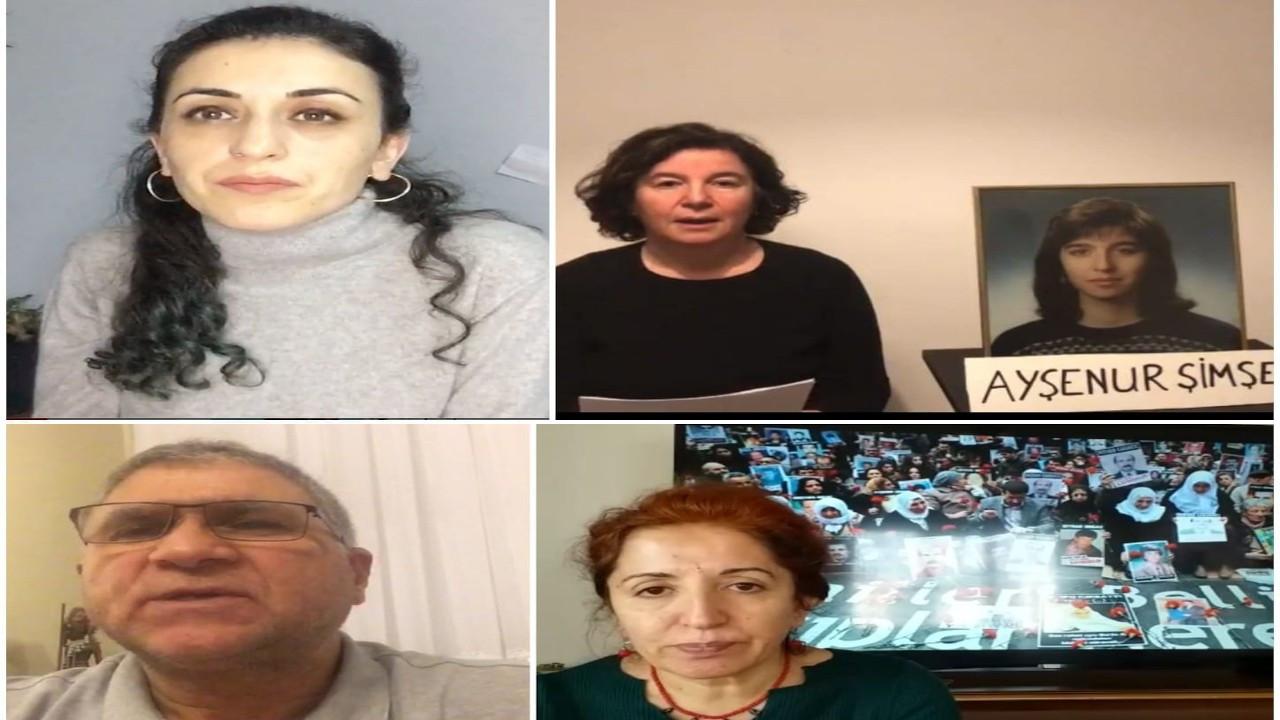 Cumartesi Anneleri Ayşenur Şimşek için adalet istedi