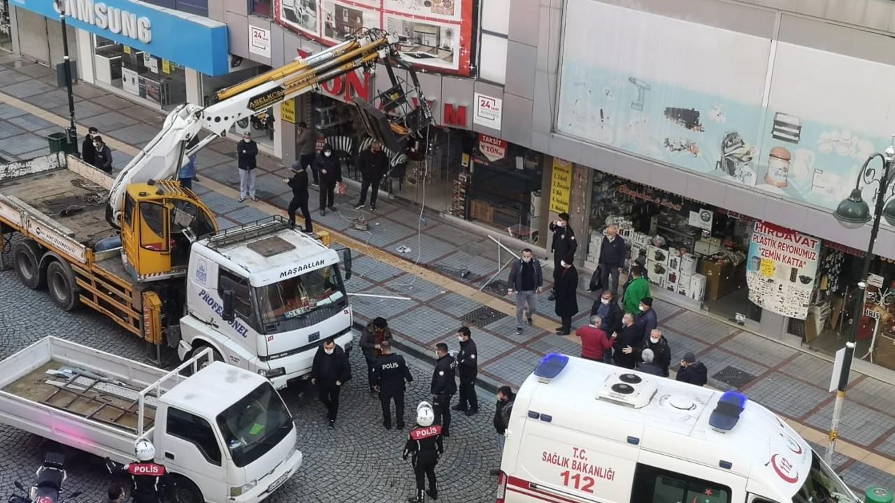 Bir iş cinayeti daha: Vinç sepetinden düşen işçi öldü