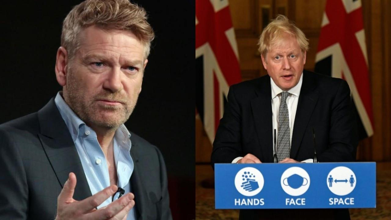 Kenneth Branagh, Boris Johnson'ı canlandıracak