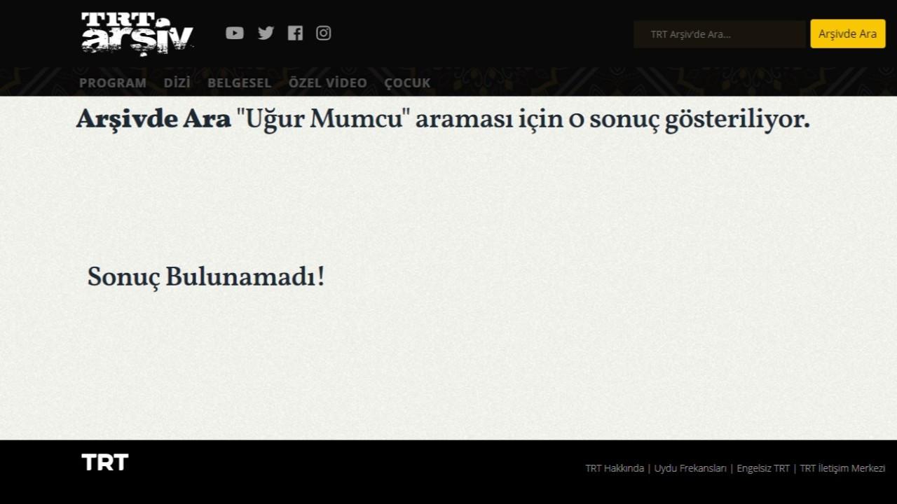 Tepkiler büyüdü, TRT Uğur Mumcu videolarını yeniden arşive alıyor