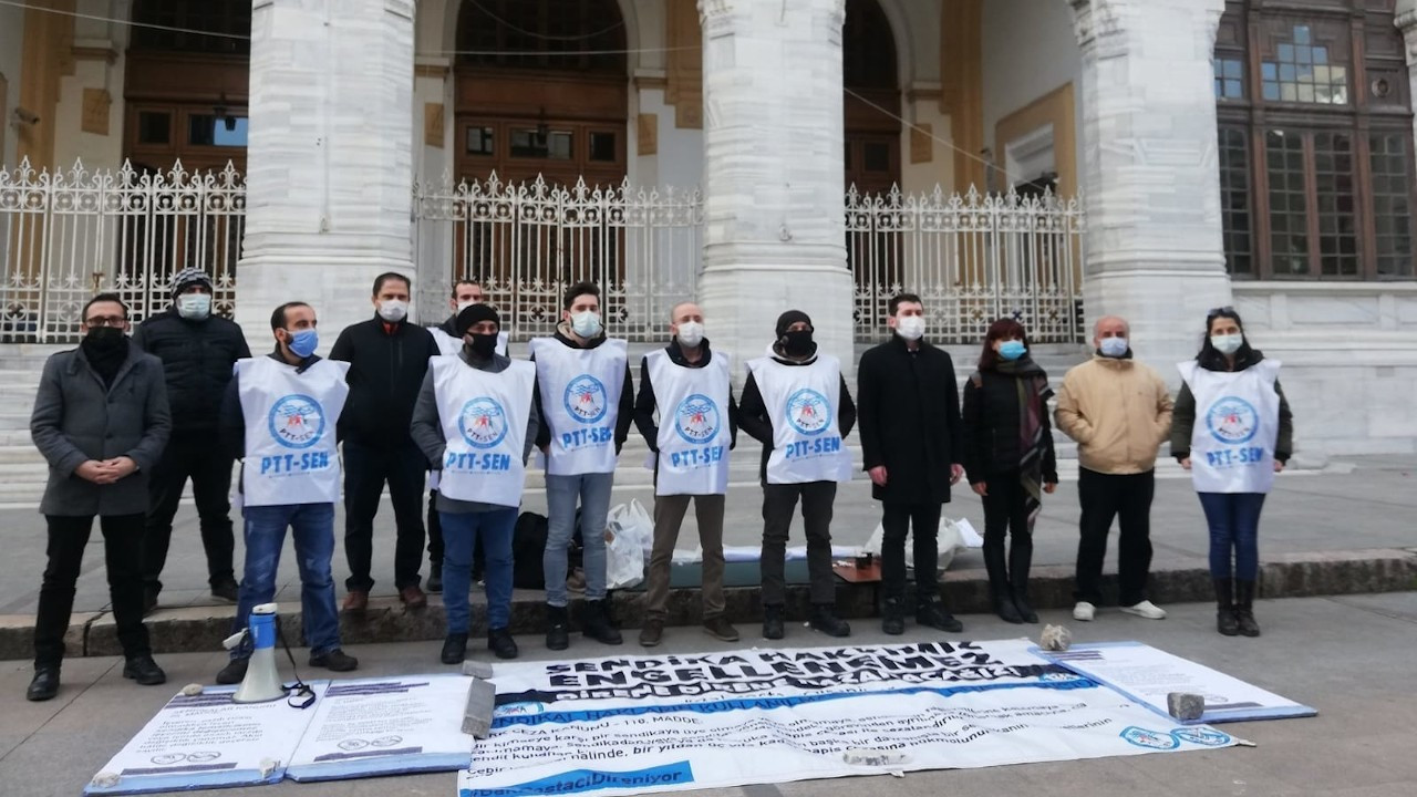 PTT işçileri eylemlerini Ankara'da sürdürecek