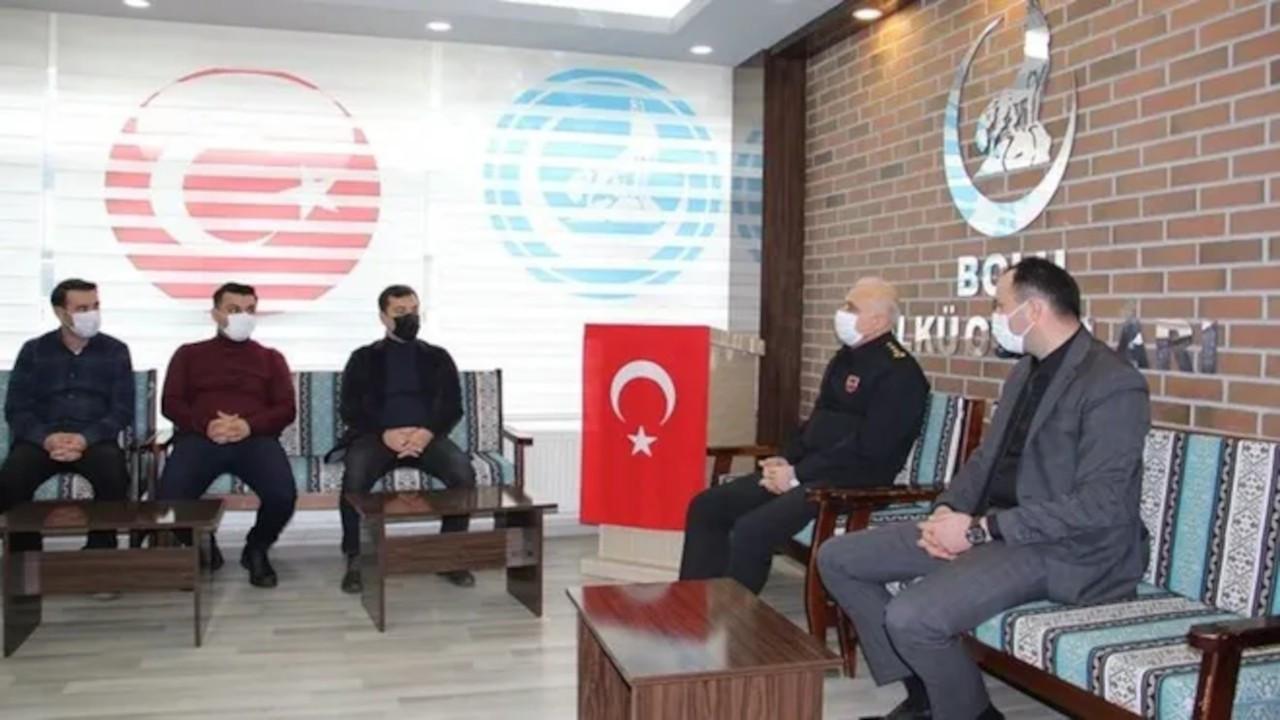 Albay'dan Ülkü Ocakları'nı ziyaret açıklaması: Anlık olarak gelişti