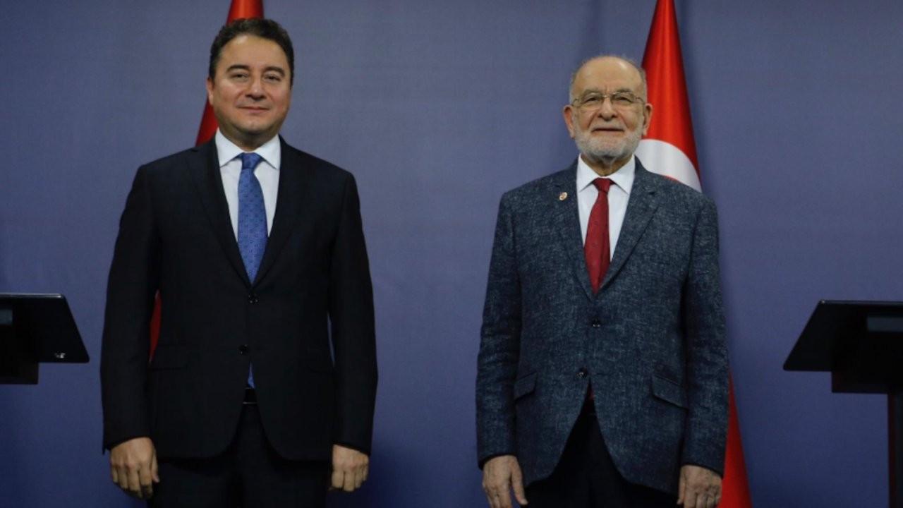 Babacan'dan Karamollaoğlu'na ziyaret: SAADET'le yakın olmamız önemli