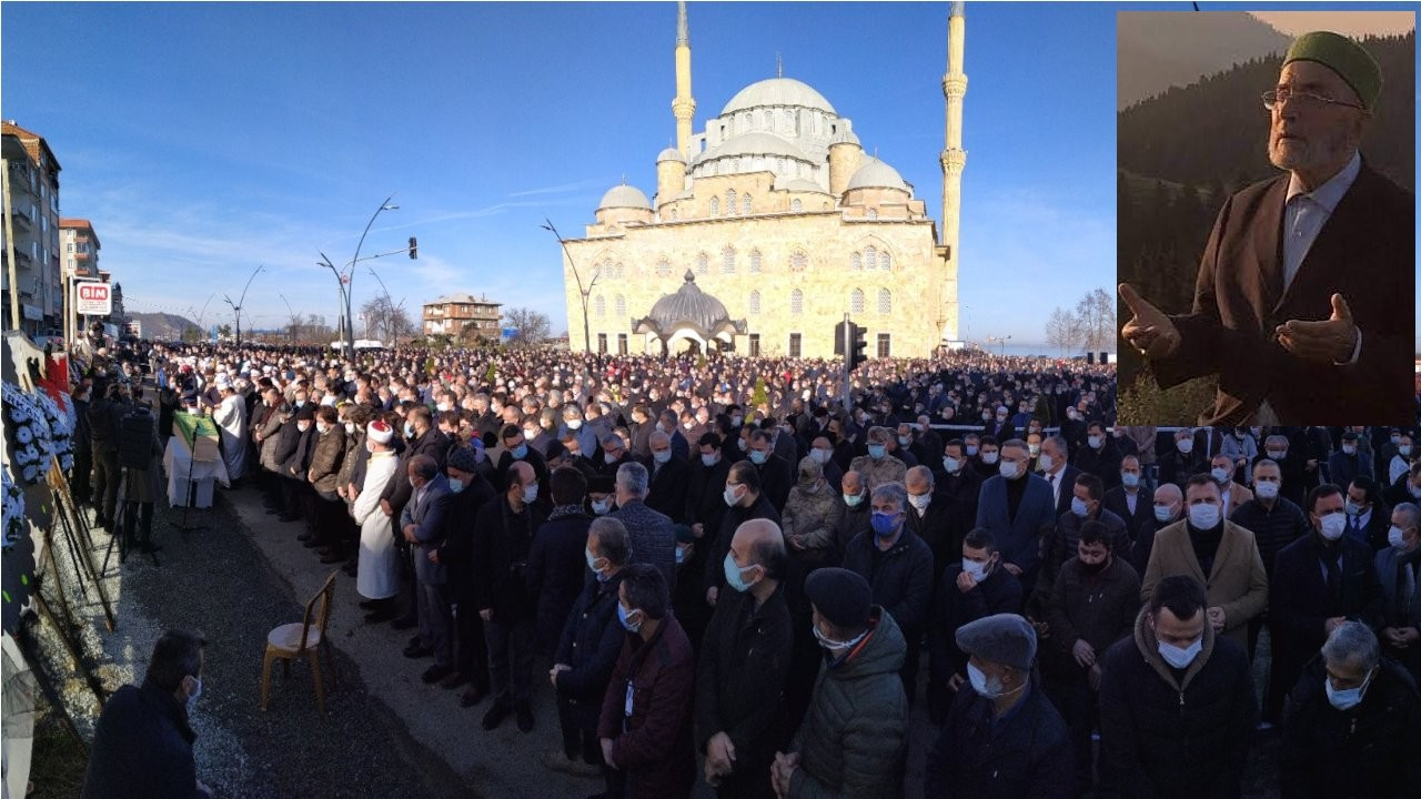 Koronadan ölen Nuri Genç'in cenazesine binlerce kişi katıldı