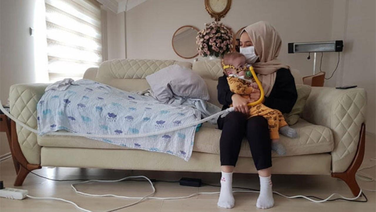 Tedavisi için 21 milyon TL toplanan bebek törenle ABD'ye uğurlandı