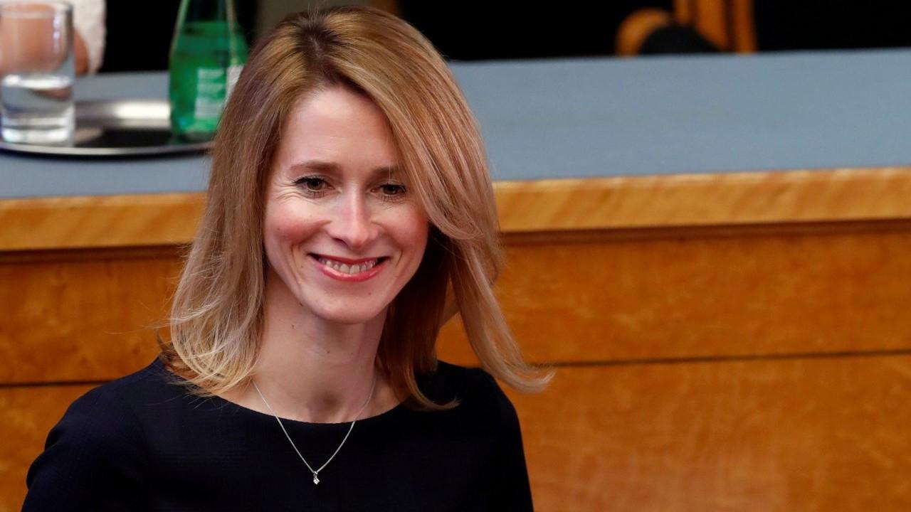 Kaja Kallas, Estonya'nın ilk kadın başbakanı oldu