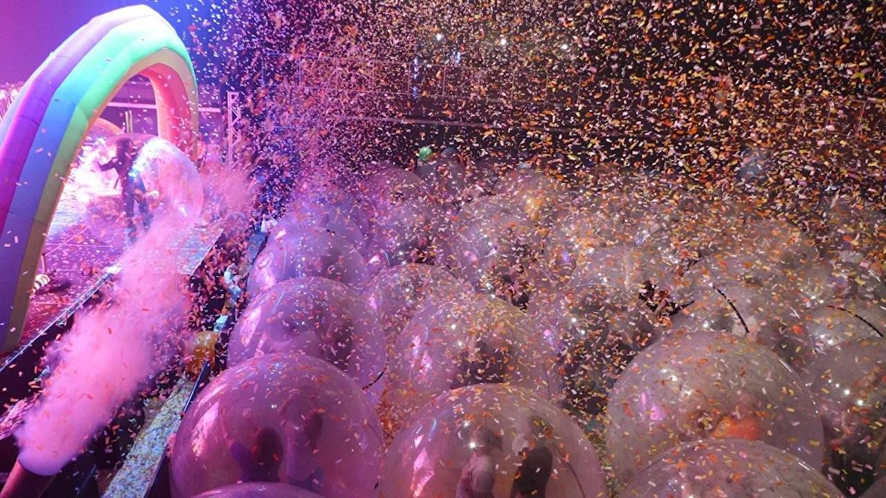Koronaya karşı 'uzay baloncuklarında' konser