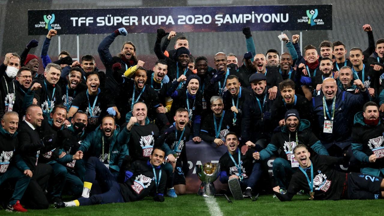 TFF Süper Kupa'nın sahibi Trabzonspor