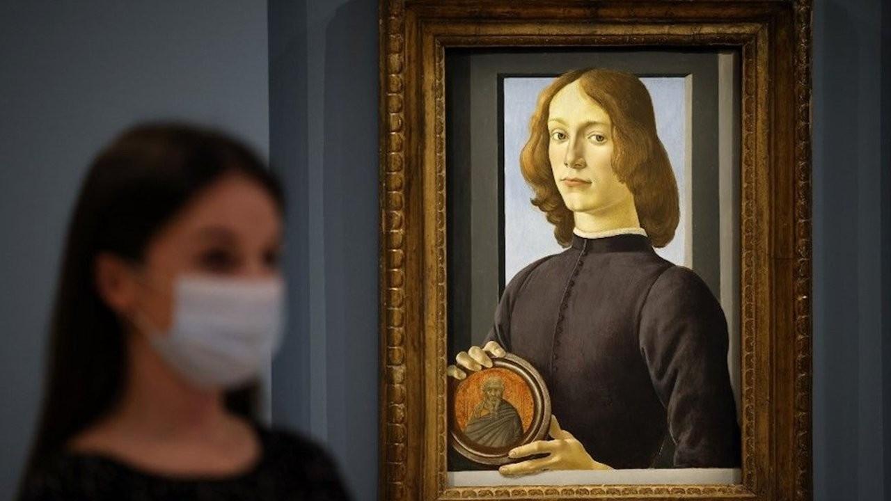 Botticelli'ye ait tablo müzayede rekoru kırdı: 92 milyon dolar