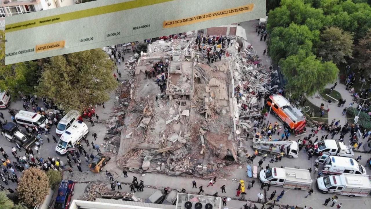 Belediyenin yaptığı yardımı Vakıfbank KHK'lı depremzedeye vermedi