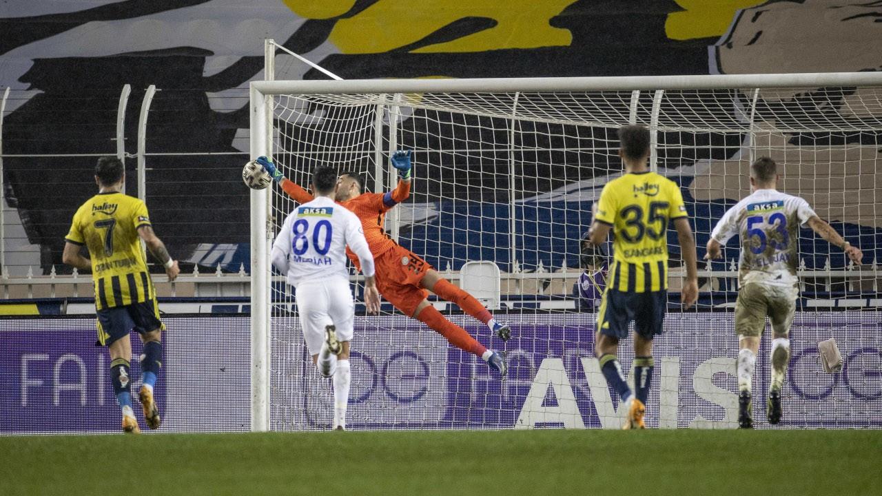 Fenerbahçe Rize'yi devirdi, maç fazlasıyla lider oldu