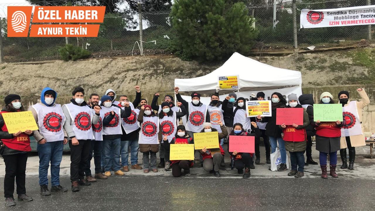 Migros işçileri: Ölüm ücretini değil, işimizi istiyoruz