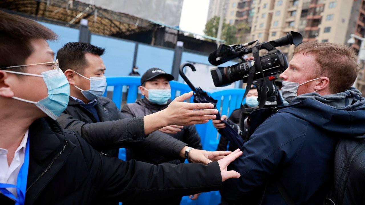 DSÖ uzmanları Wuhan hayvan pazarında