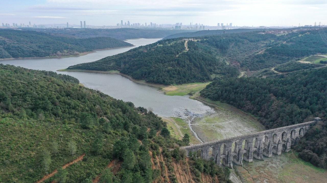 İstanbul barajlarındaki su seviyesi yüzde 41,30'a çıktı