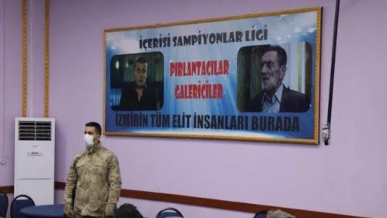 İzmir'deki kumar operasyonunun fotoğrafı...