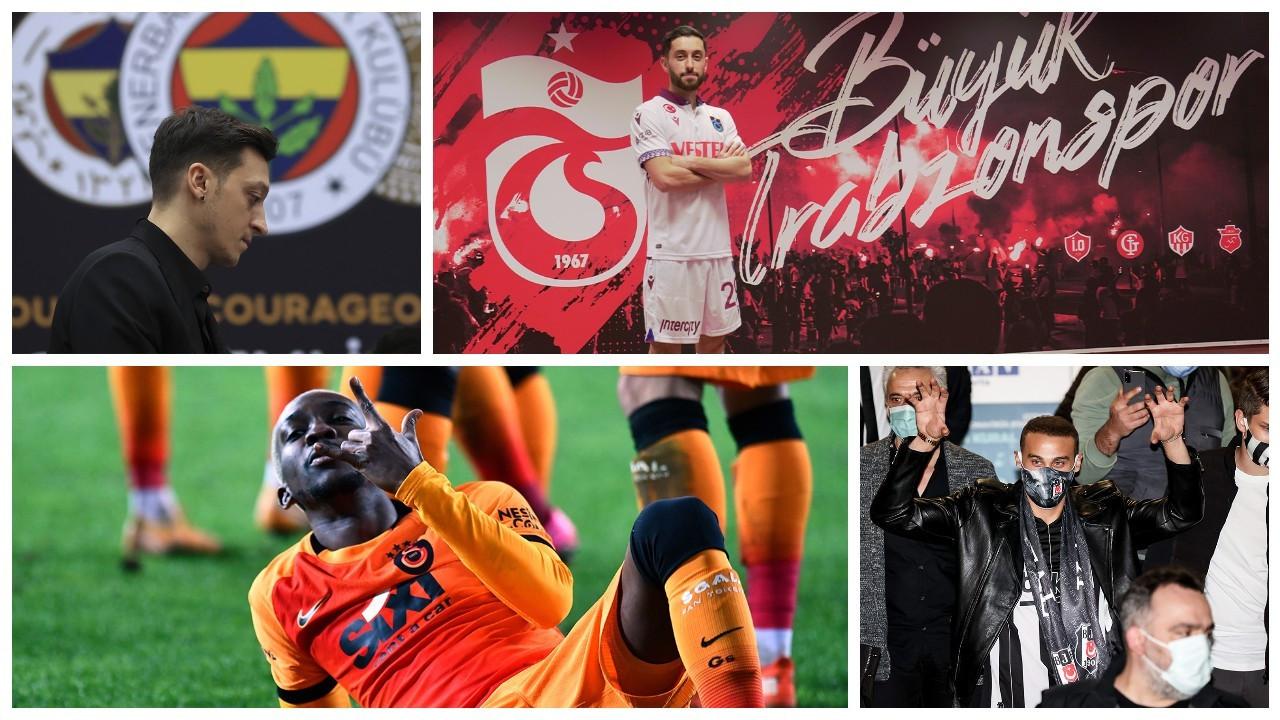 Ara transfer bitti: Süper Lig'de atılan bütün imzalar