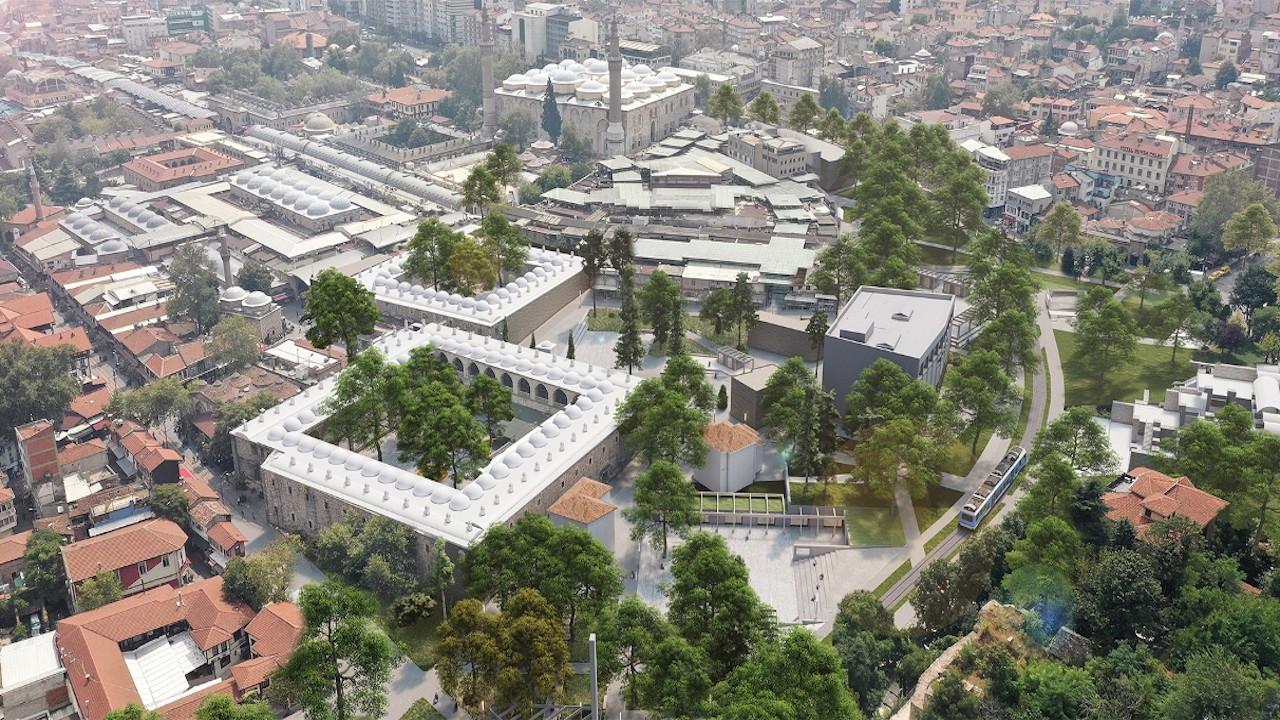 Bursa'da tarih 10 numaralı projeye emanet