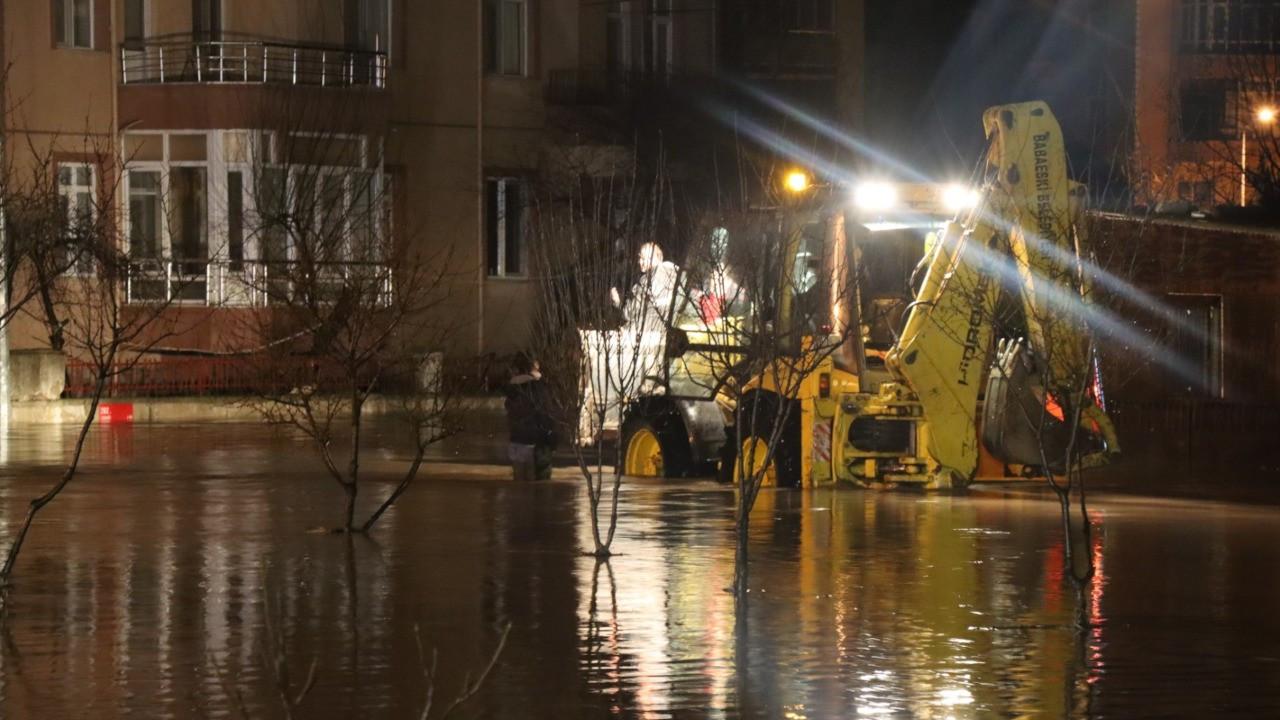 Trakya'yı aşırı yağış vurdu