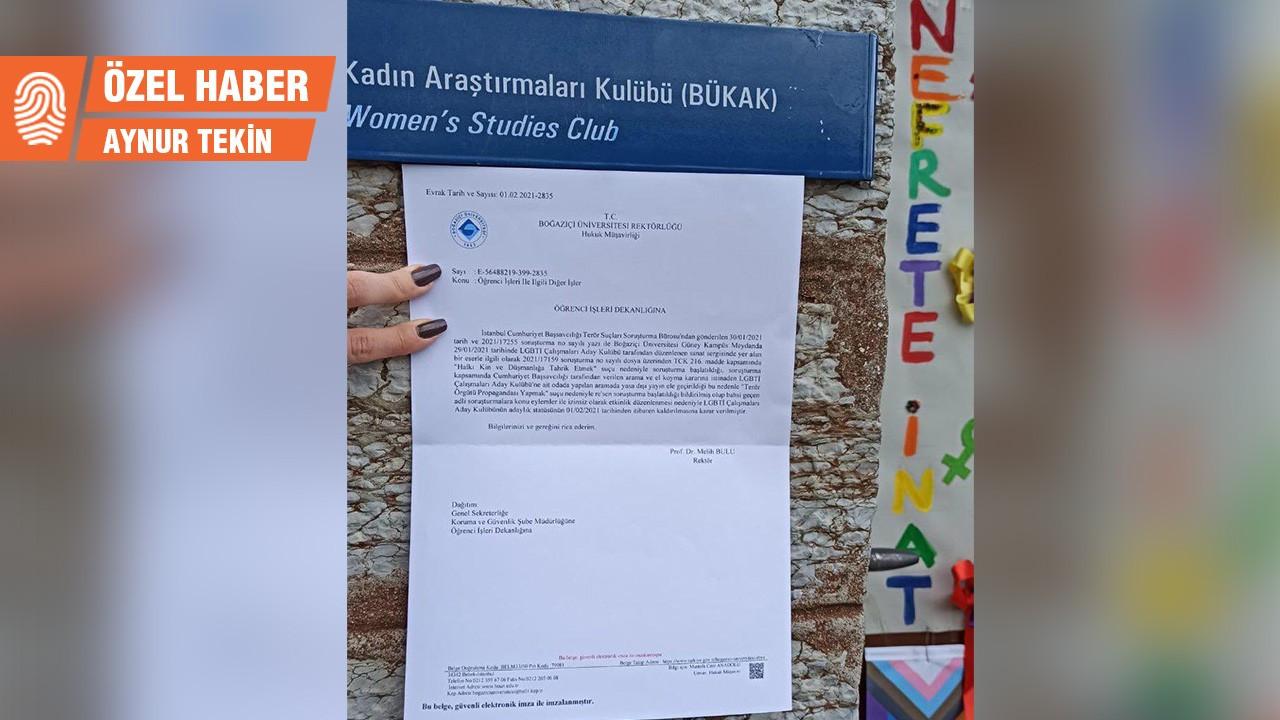 Boğaziçi LGBTİ+ Kulübü düzenlemediği etkinlikten sorumlu tutuldu