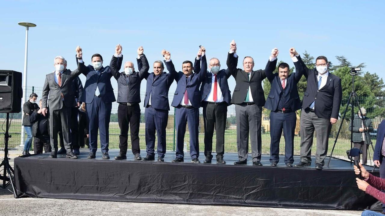 Yunuseli Havaalanı Bursa'da 6 partiyi birleştirdi