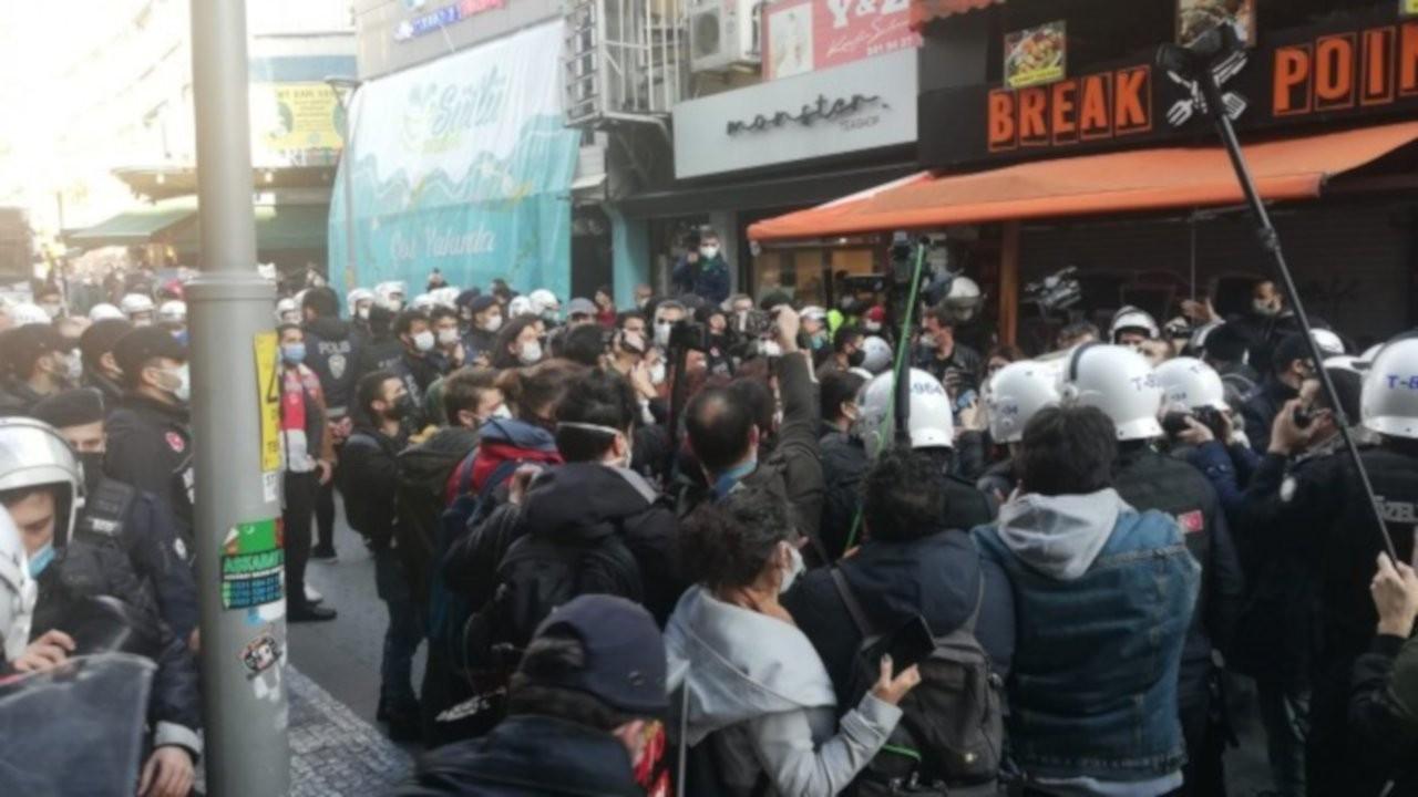 Birleşik Mücadele Güçleri'nin açıklamasına polis ablukası