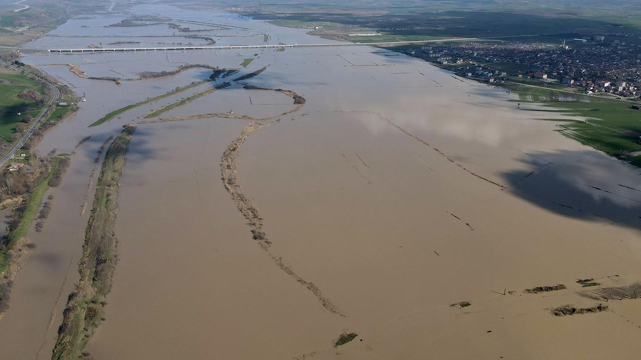 Ergene Nehri'nde alarm durumu 'kırmızı'ya yükseltildi