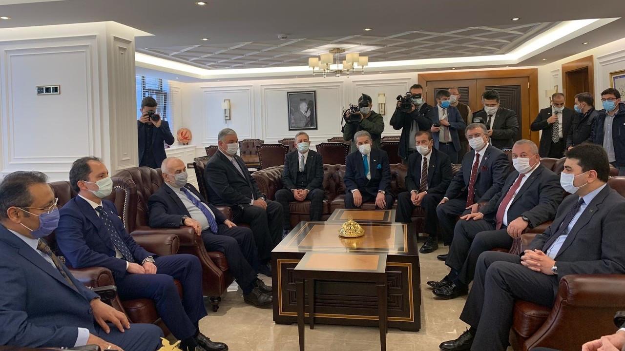 DP'den Fatih Erbakan ziyareti: İttifak değil, nezaket ziyareti