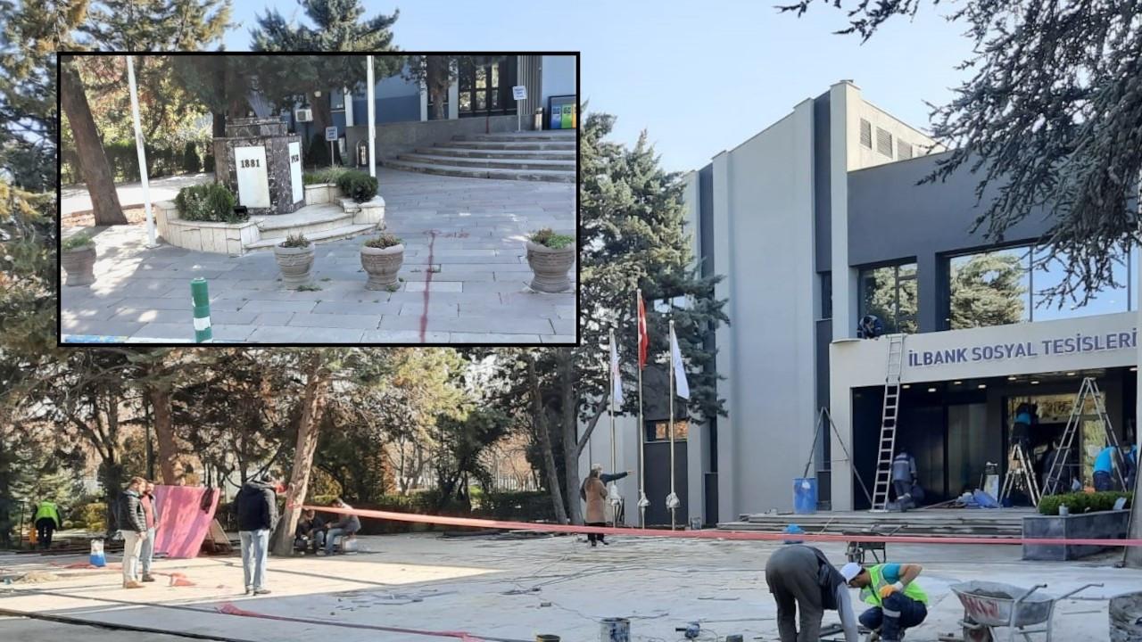 Mimarlar: İller Bankası Sosyal Tesisleri'ndeki Atatürk büstü nerede?