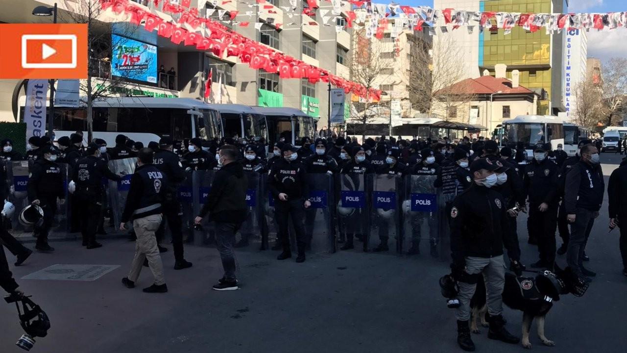 Ankara'da Boğaziçi eylemi yapanlar gözaltına alındı